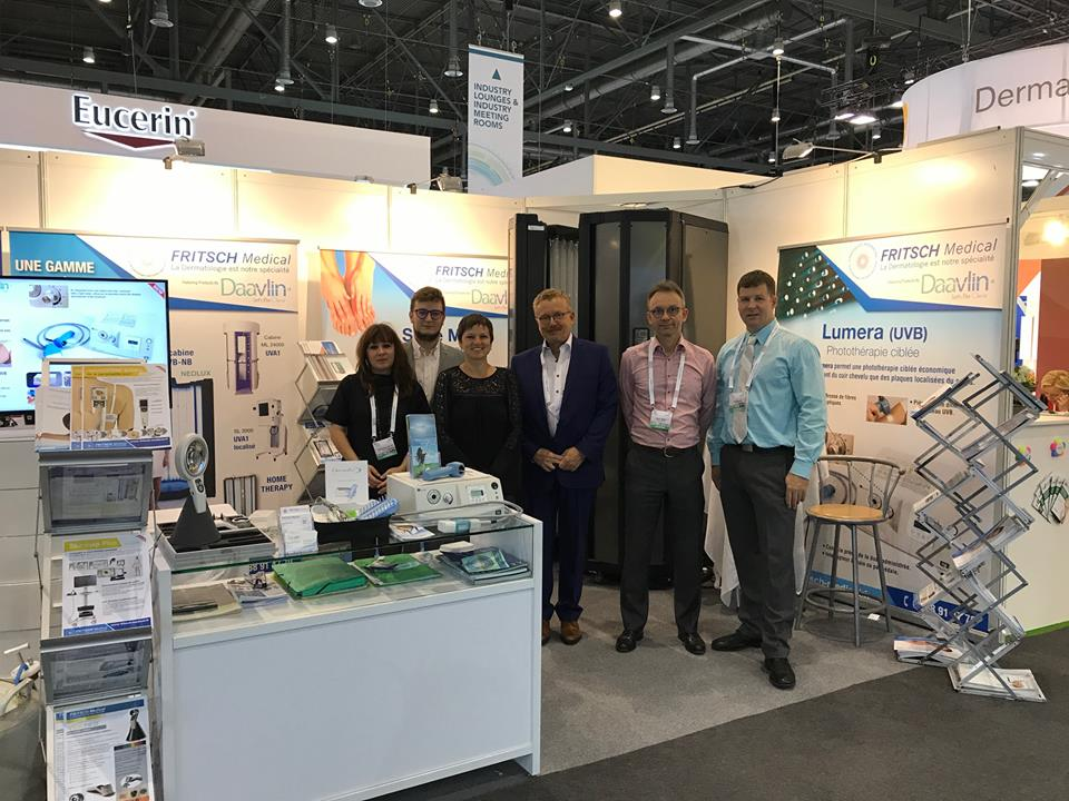 DAAVLIN et FRITSCH Medical sur le congres EADV