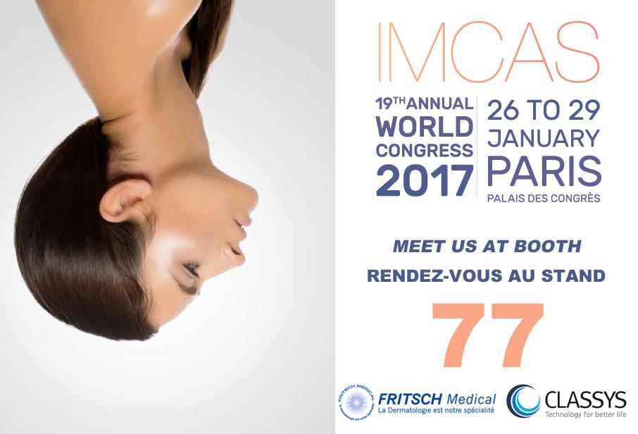affiche IMCAS-fritsch médical 2017