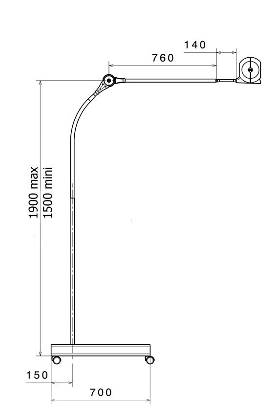 Lampe LID - BELLON - FRITSCH Medical
