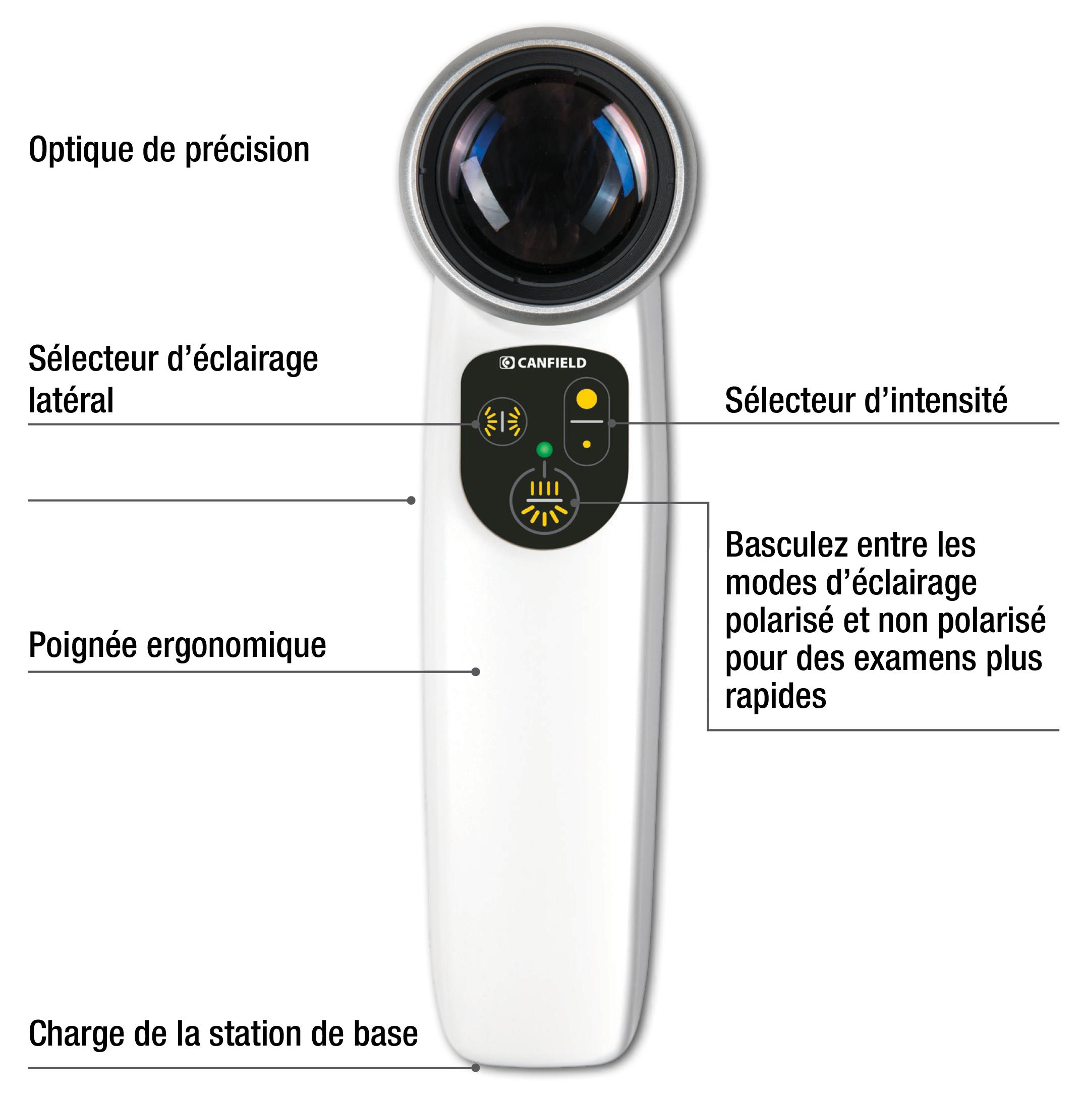 Dermoscope LUMINIS2 - dépistage cancers cutanés