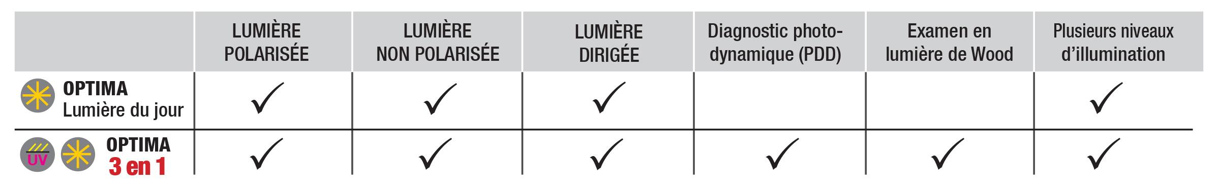 Tableau descriptif
