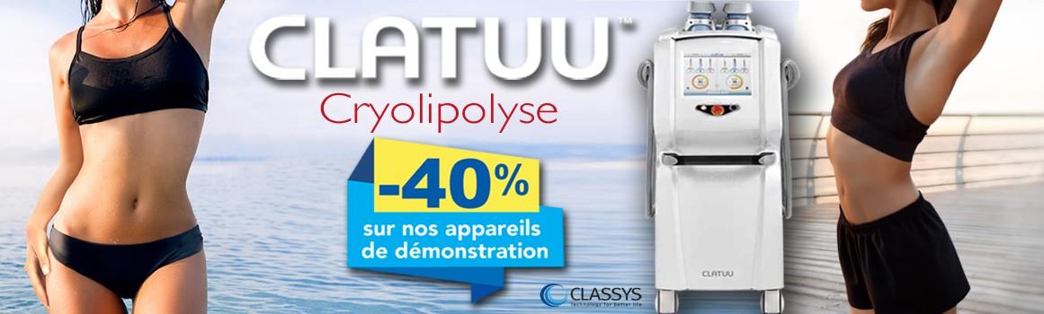 CLATUU - appareil de Cryolipolyse