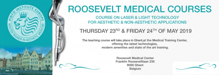 FRITSCH Medical sera aux ROOSEVELT MEDICAL COURSES du 23 au 24 Mai